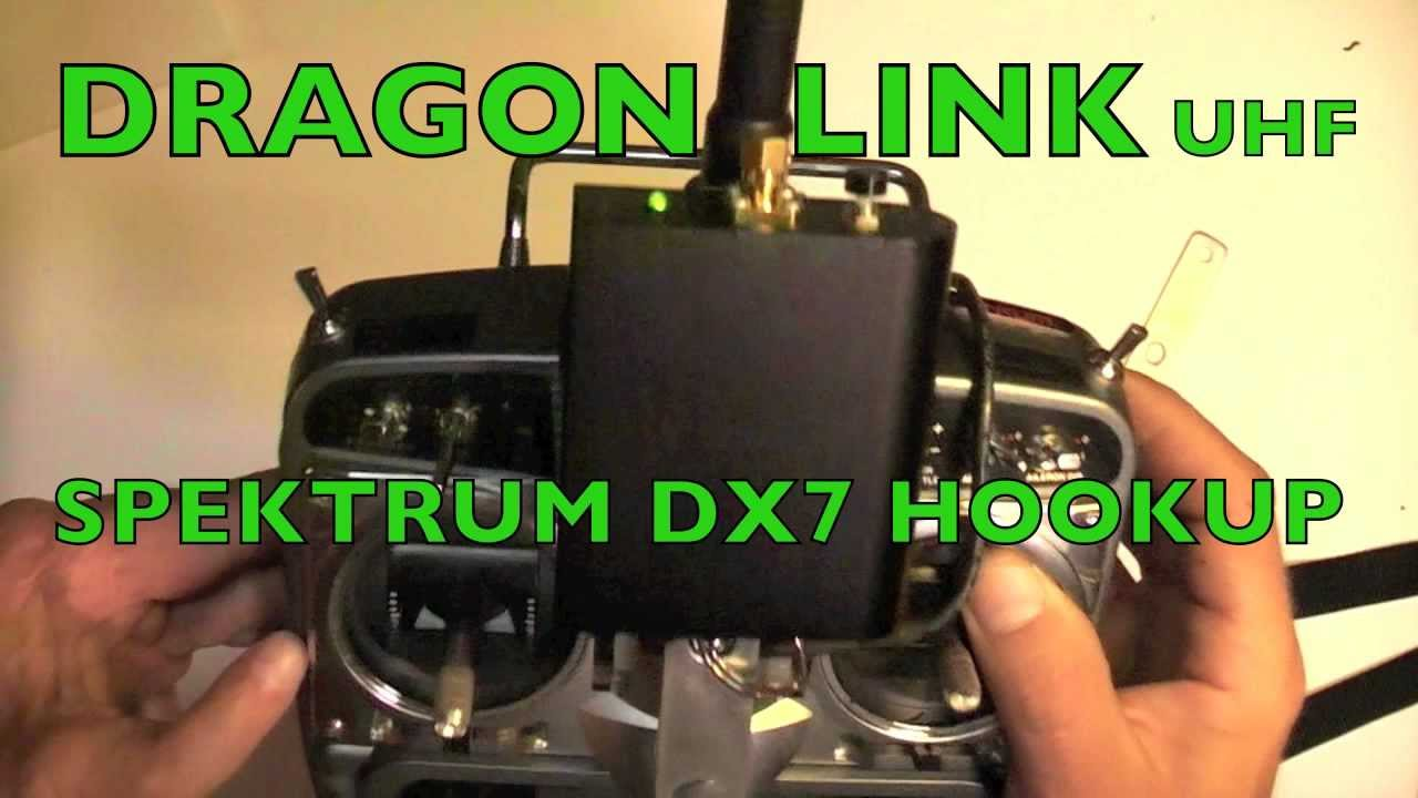 DRAGONLINK - Review and Spektrum DX7 Hookup - YouTube