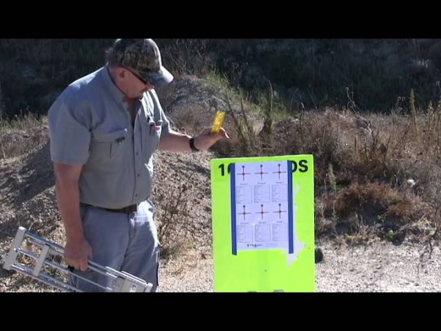 DETAILED EXPLANATION Of The (Model 200) Best Target Stand
