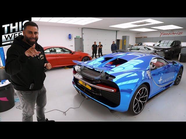More Chrome Blue Bugatti Chiron, What A Week! | TWAY ep20