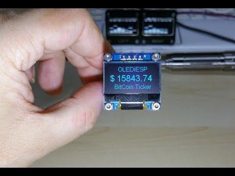OLEDiESP BitCoin Ticker By Hayri