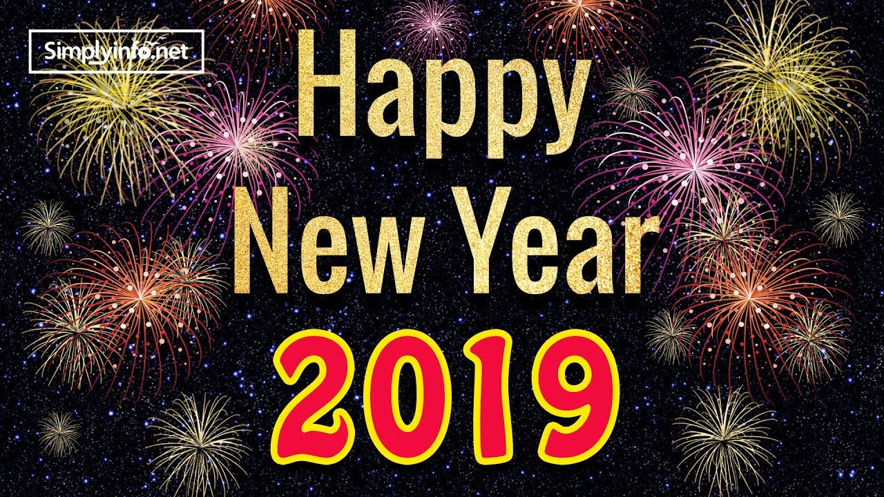 Happy New Year 2019 Happy New Year Whatsapp Status Video 2019 Newyearwhatsappstatusvideo