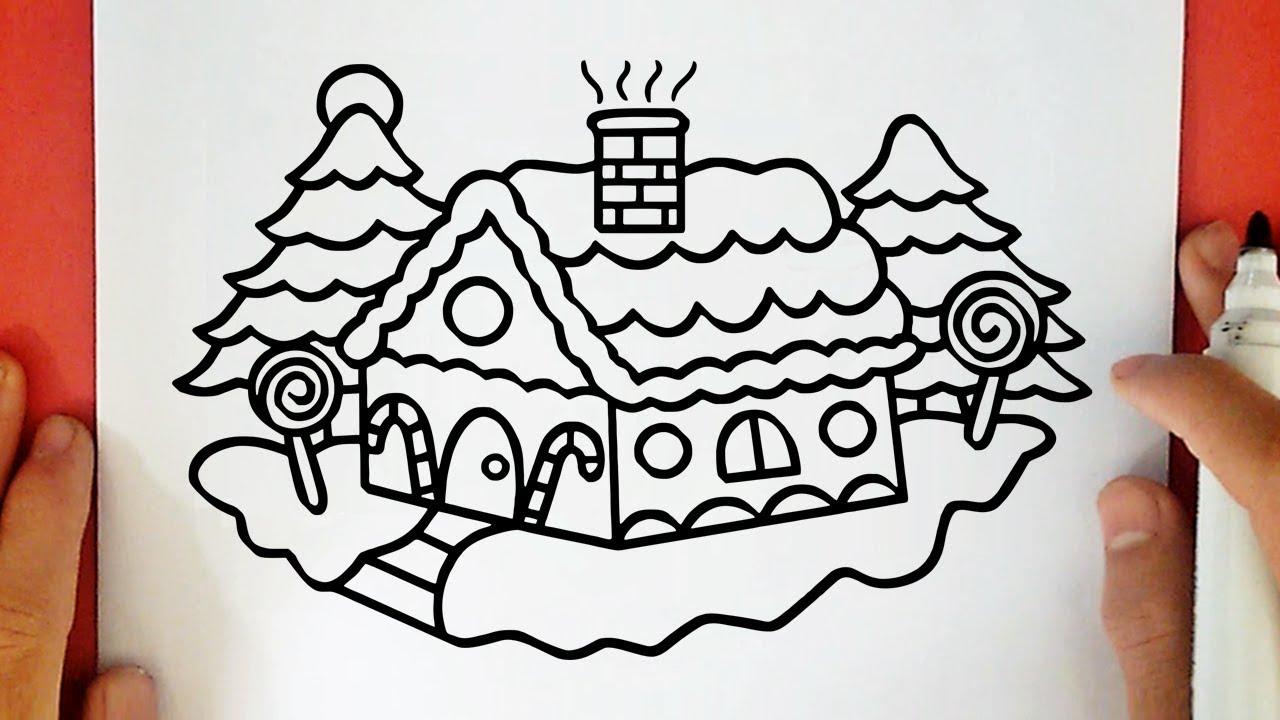 Foto lina östling/idecor.com open zoom. Come Disegnare Una Casa Di Natale Youtube