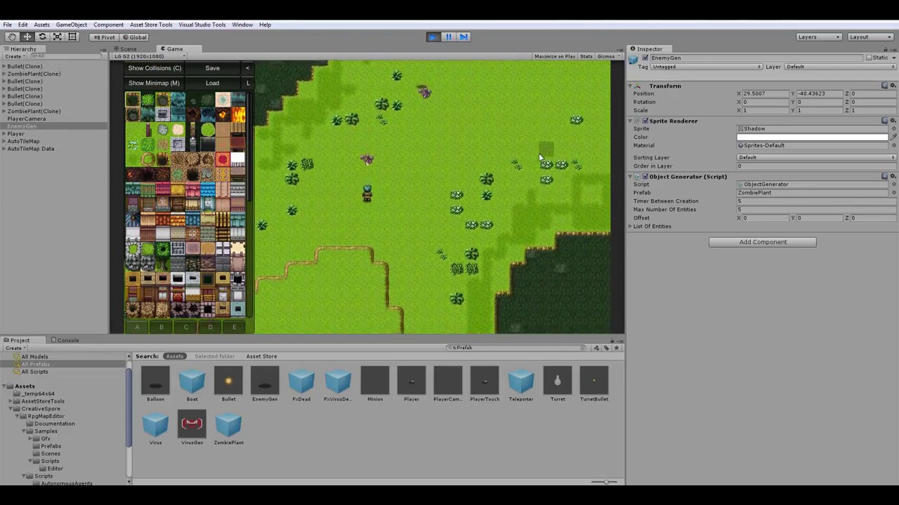 Unity Asset Store Pack - RPG Map Editor and Engine (Download link in  description)