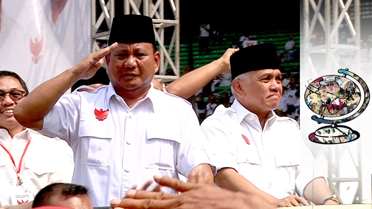 Indonesia's Presidential Rivals In Election Dispute