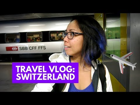 TRAVEL VLOG LA TO SWITZERLAND | Vlog.226