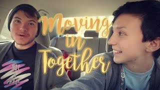 MOVING IN WITH MY FIANCE (pt 1 - Moving OUT) | ChandlerNWilson