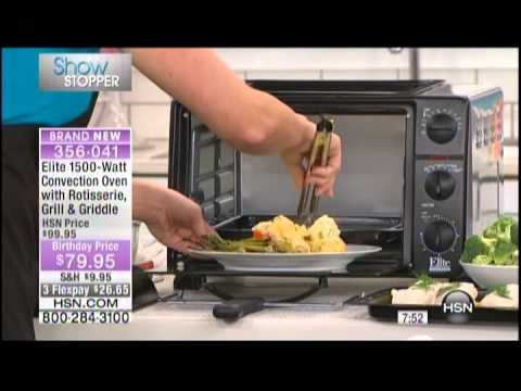 Kelly Diedring Harris presents the Elite Toaster Oven on HSN