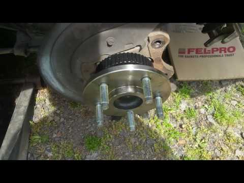 How to replace mustang rear axle 99 thru 04