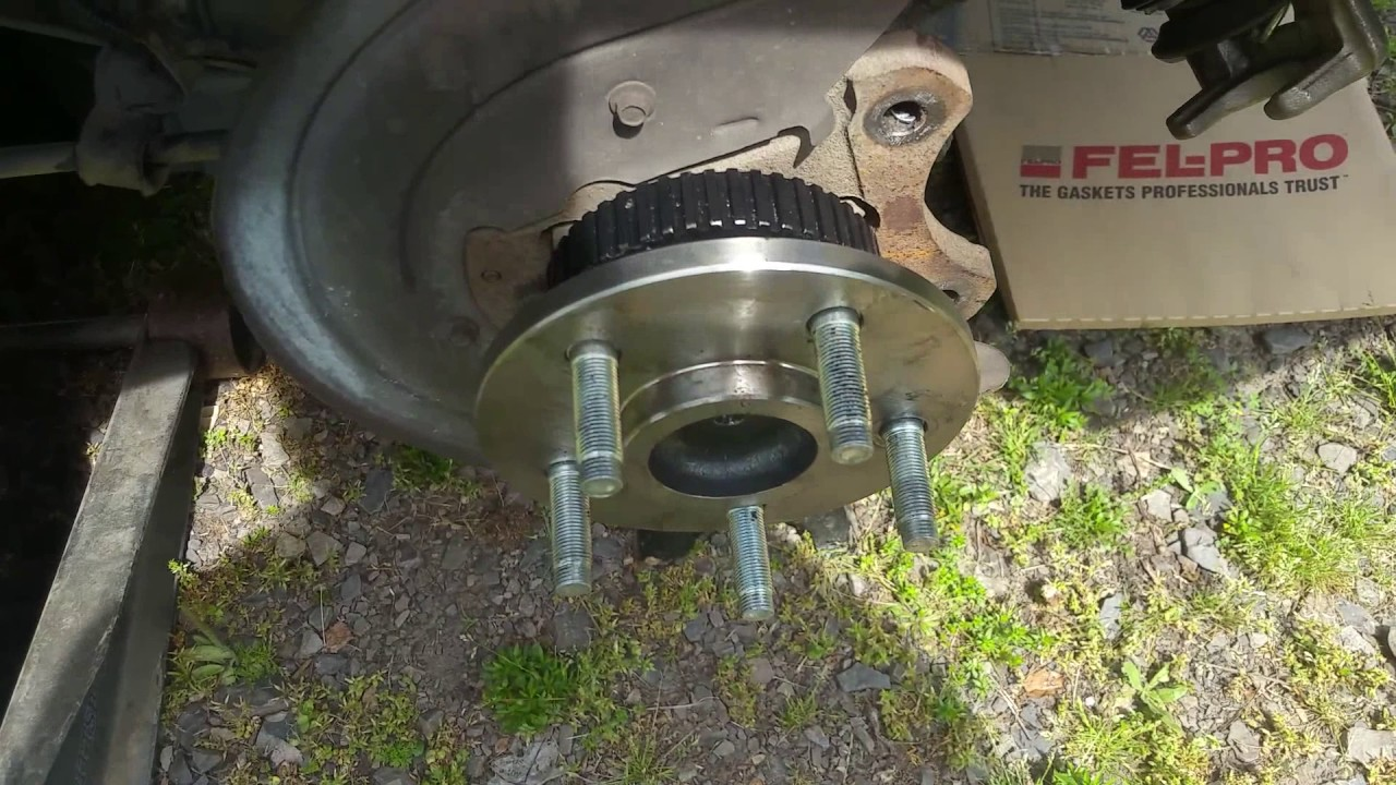 hight resolution of how to replace mustang rear axle 99 thru 04