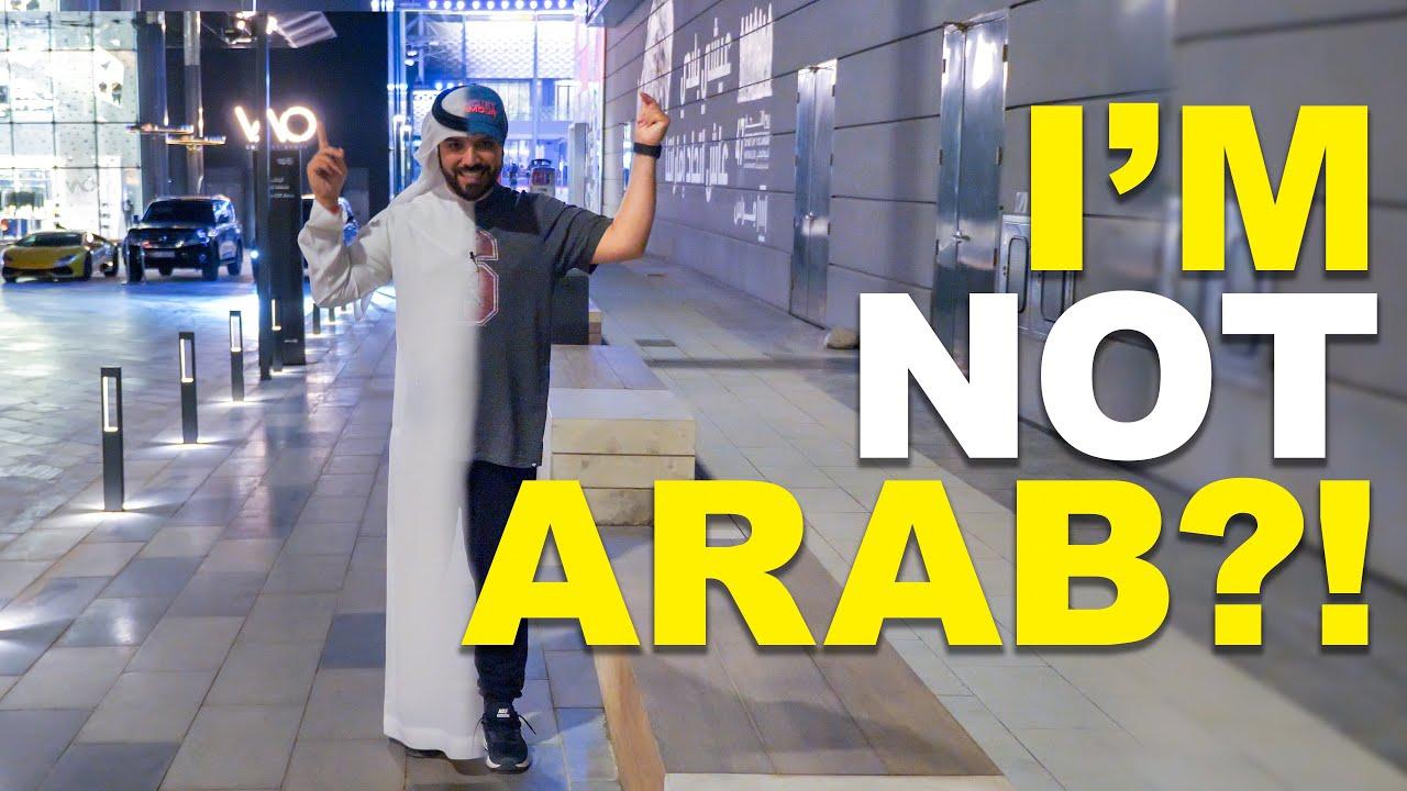 I'M NOT ARAB?!