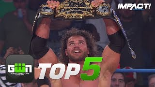 5 Most CONTROVERSIAL Championship Match Conclusions in IMPACT Wrestling History | GWN Top 5