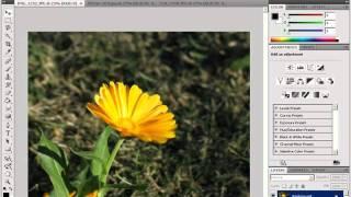 Интерфейс программы Adobe Photoshop CS4