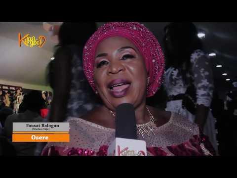 Nollywood Veteran Iya Awero, Iya Ereko shows happiness while being honoured alive