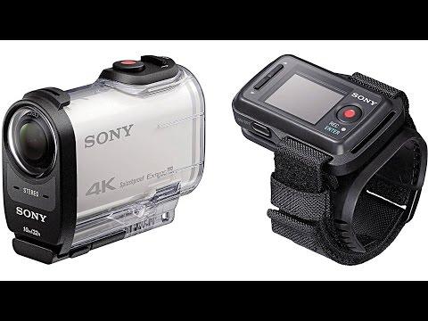 Краткий обзор новой экшн камеры SONY FDR X 1000 VR, и сравнение её с камерой HDR AS 30 V...