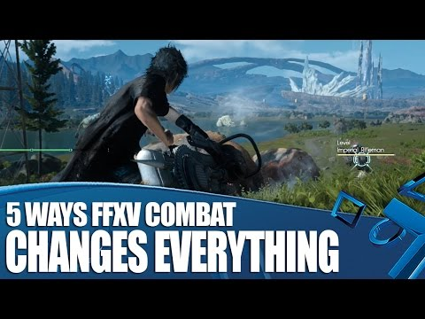 5 Ways Final Fantasy XV's Combat Changes Everything