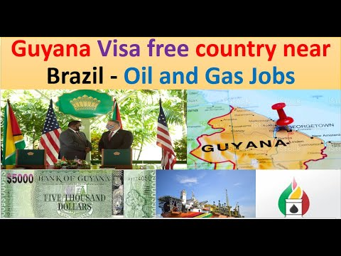 Guyana Visa Free Country for Pakistan      Complete jobs information