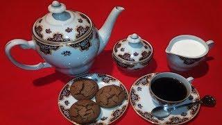 Треснутое печенье с турецким кофе