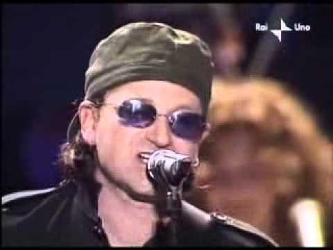 U2 Bono Vox, Live Pavarotti Friends 2003 - One   ALE
