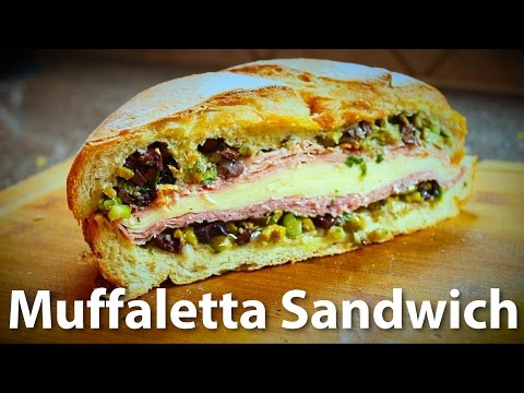 Easy Muffaletta Sandwich Recipe