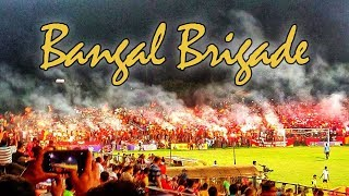East Bengal Ultras | Bangal Brigade ► First ever PYRO SHOW in Indian Football