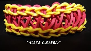 "*new* ""cats Cradle"" Wonder Loom Tutorial (updated Video)"