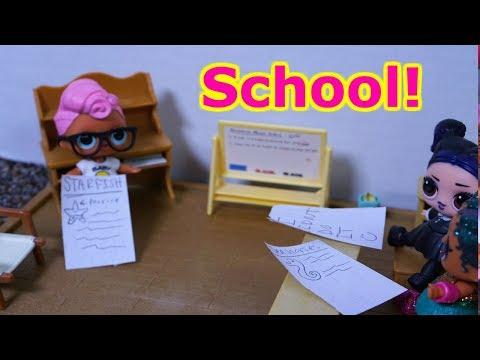LOL SURPRISE DOLLS Present School Projects