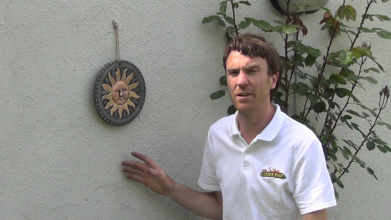 Terracotta Sun Garden Wall Art