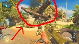 Black Ops 2 Modder Spawns In Airplane! Gives Us Wall Hacks & More!