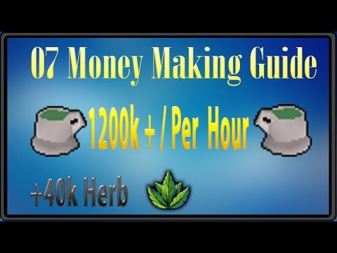 1200k/Hour Herblore Money Making Guide
