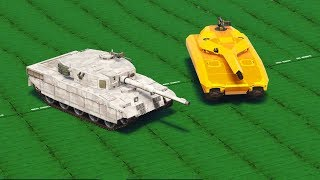 GTA 5 - Rhino Tank VS TM-02 Khanjali