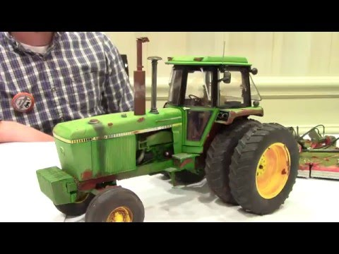 1/16 Precision John Deere 4840 Weathered And Rusted