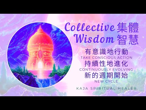 🌳 Collective Wisdom 集體智慧|有意識地行動 Take Conscious Action 持續性地進化 Continuously Evolving 新的週期開始 New Cycle