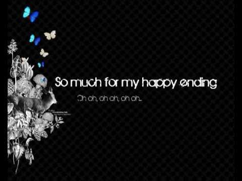 Avril Lavigne - My happy ending Acoustic version [ with lyrics ]