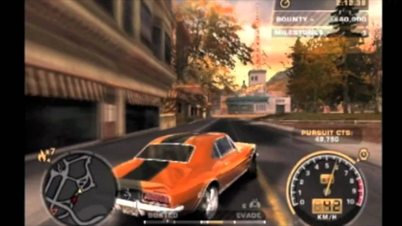 Need For Speed Most Wanted Black Edition Challenge Ps2 Hd Youtube