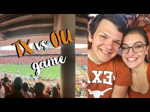 TX OU Vlog + State Fair in Dallas | College Sophomore | UT Austin