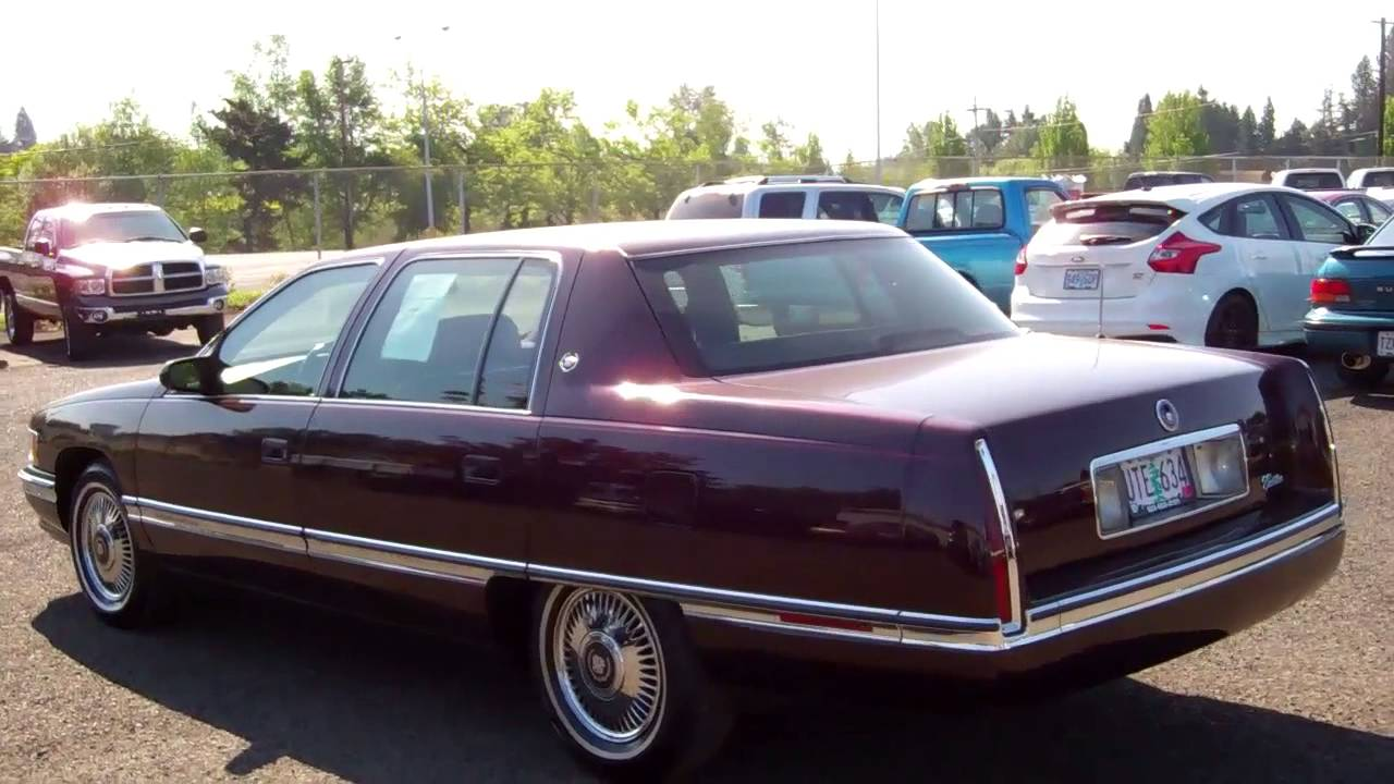 1995 Cadillac Sedan Deville With Only 47k Miles On It
