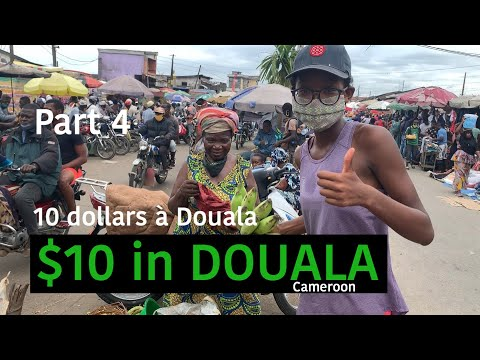 Part 4: Douala, Cameroun $10 video at Nkoulouloun. 06-2020