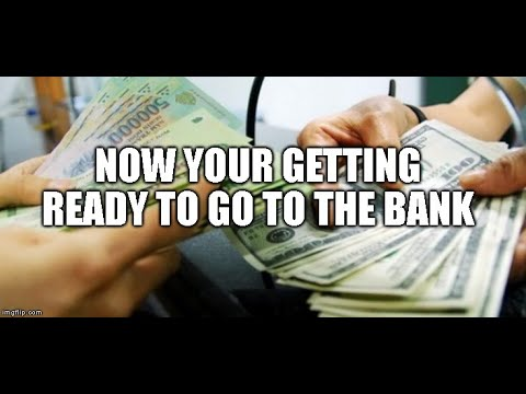 After the Dinar RV and now your getting ready to go to the bank/Security measures. Part 3