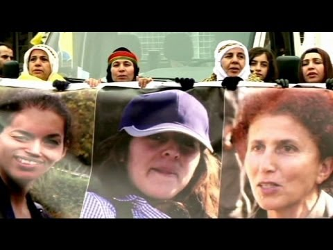 Kurdish protests escalate in Paris