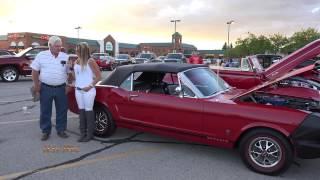 1966 Ford Mustang GT Convertible - Homer Glen Car Show (4K)