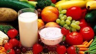 Com menor inflamação frutas