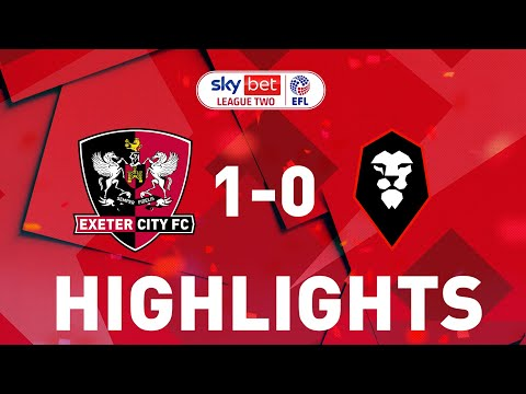 Exeter City Salford Goals And Highlights