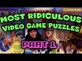 Most RIDICULOUS Game Puzzles! - PushingUpRoses