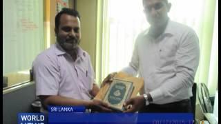 Ahmadiyya Muslim Community gifts Quran to Sri Lankan politician
