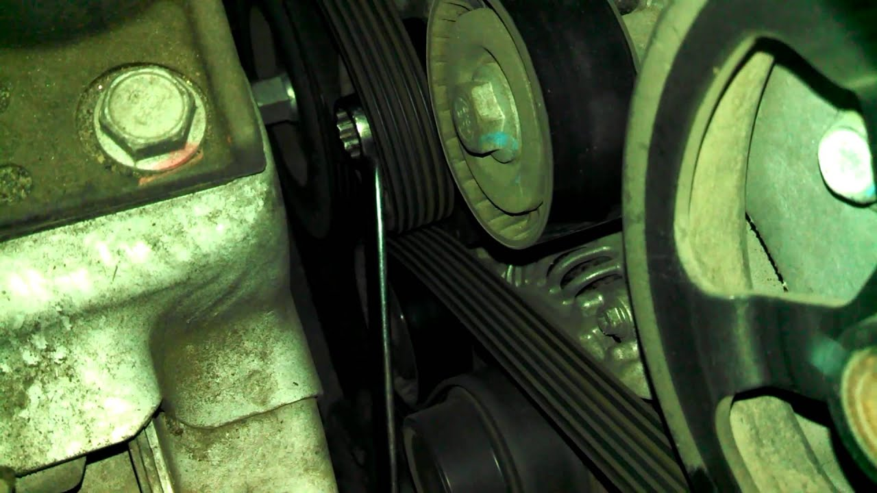 medium resolution of 2009 dodge journey alternator noise from pulley