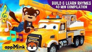 #appMink car animation kids video & Fun Nursery Rhymes