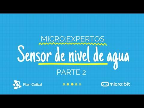 Sensor de Nivel de Agua micro:bit - PARTE 2