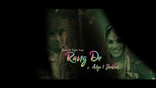 Rang DE | Adya & Shekhar | Wedding Teaser | Wedding Film|  Patna