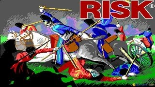 Risk  - The World Conquest Game (Virgin, 1989) gameplay (PC Game, 1989)