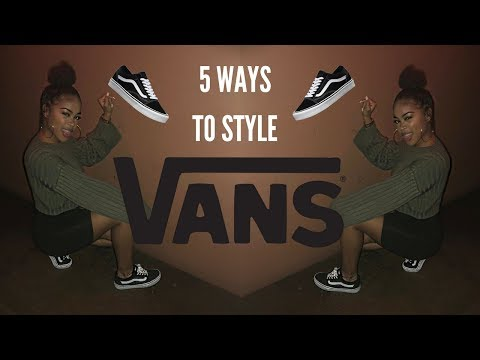 5 Cute Ways I Style My Vans + A Chance to Shop My Closet!